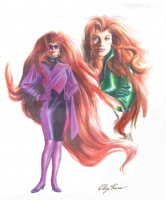 Alex Ross Medusa, Comic Art