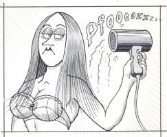 Al Jaffee Hot Babe Comic Art