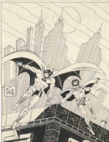 Batman and Robin by Bob Kane Comic Art