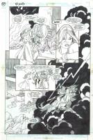 Gil Kane The Ring Saga Page Comic Art