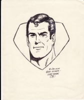 Superman by Curt Swan Comic Art