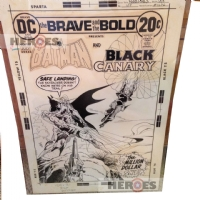 Brave & Bold #107 cover Comic Art