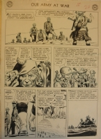 Our Army At War #91 page Comic Art
