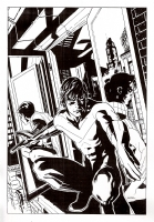 Nightwing #133 cover & poster art Comic Art