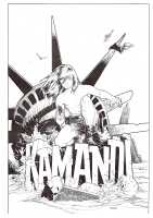 Countdown Special Kamandi Comic Art