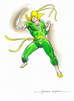 Iron Fist (Pu�o de Hierro) Comic Art