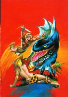 Original Cover for Kazar n�1 Comic Art