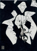 Alex Toth - Conan Pinup Comic Art