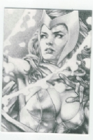 Jay Anacleto- Scarlet Witch Comic Art