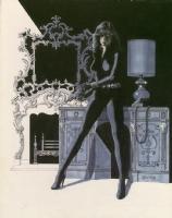 Black Widow Portfolio Plate Comic Art