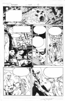 Fantomen page by Sal Velluto Comic Art