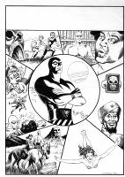 Phantom world (pin-up) by Romano Felmang Comic Art