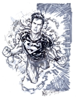 Superboy by Ken Lashley Comic Art