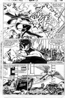 Fantastic Four #250 page 21 FF versus X-men Comic Art