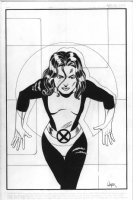 Shadowcat by Paul Smith Comic Art