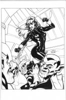 Black Widow by Terry & Rachel Dodson Comic Art