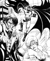 Joker's Surprise with Batman, Comic Art
