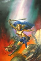 Boris VALLEJO - Ahead and Beyond Comic Art