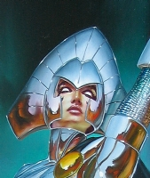 Julie BELL - Lilandra DETAIL Comic Art