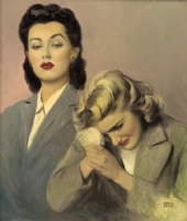 Andrew LOOMIS - Two Ladies, Comic Art