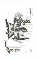 Black Widow Comic Art