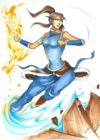 Avatar Korra - Danielle Sylvan , Comic Art