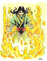 Ghazan - Rich Woodall, Comic Art