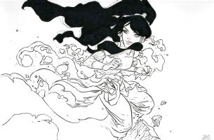 Avatar Korra - Ben Caldwell, Comic Art