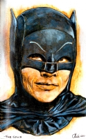 Adam West Batman - Andrew Houle, Comic Art