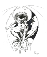Demona - Tom Raney, Comic Art