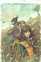 Pet Avengers #2 Var Cvr - Niko Henrichon, Comic Art