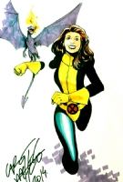 Shadowcat & Lockheed - Carlos Pacheco, Comic Art
