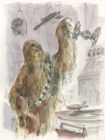 Chewbacca - Scott Morse, Comic Art