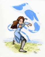Katara - Justin Ridge, Comic Art
