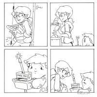 Gronk - Katie Cook, Comic Art