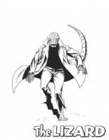 Lizard Romita Spider-Man Comic Art