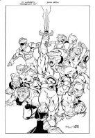 Thundercats  on Ed Mcguinness Thundercats   Comic Art Gallery Room Of Rich Cirillo