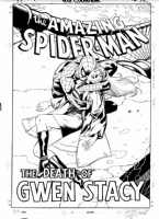 Amazing Spider-man Death of Gwen Stacy TPB Comic Art