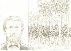 General Grant Comic Art