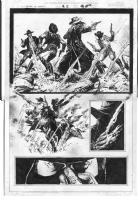 Leonardo Manco_Blaze of Glory #2 page 19 Comic Art