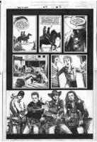 Leonardo Manco_Blaze of Glory #4 page 2 Comic Art