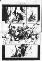 Leonardo Manco_Blaze of Glory #3 page 3 Comic Art