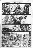 Leonardo Manco_Blaze of Glory #2 page 11 Comic Art