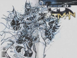 Batman Sketch Cover by Eric Canete Comic Art