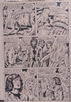ETERNALS 12 P 6 Comic Art