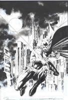 Jim Lee Batman Comic Art