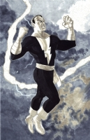 Black Adam Comic Art