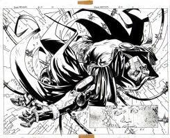 DOOM: The Emperor Returns 02 pg 02-03 DOUBLE SPLASH Comic Art