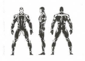 Keith Pollard OHOMU-ME Multiple Man Comic Art