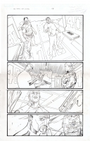 ultimate capitan anual pg18 Comic Art